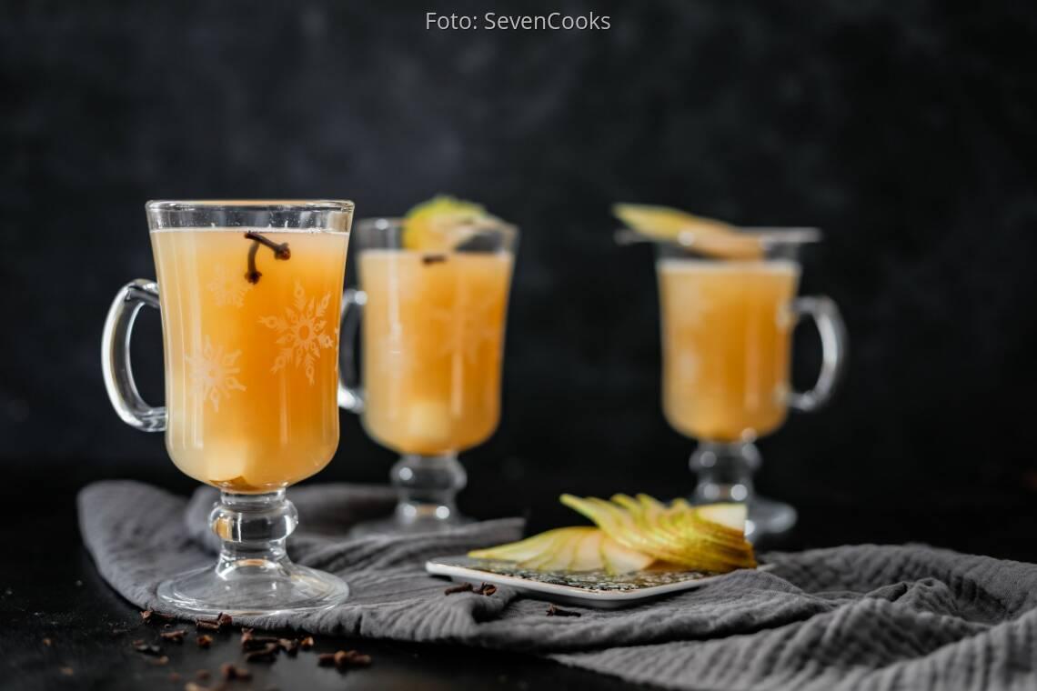 Veganes Rezept: Birnen-Ingwer-Punsch