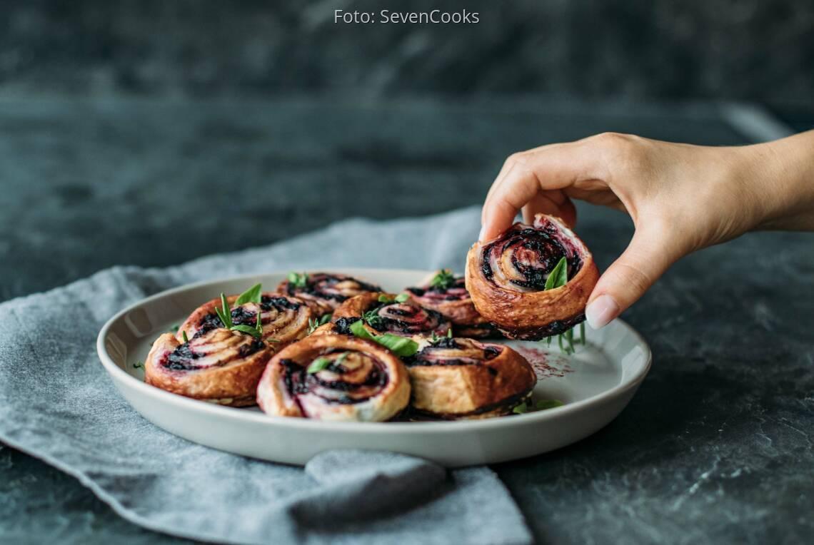 Veganes Rezept: Blaubeerschnecken aus der Provence_1