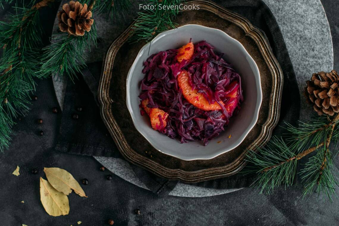 Veganes Rezept: Blaukraut mit Orange 1