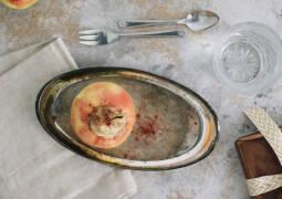 Veganes Rezept: Bratapfel mit Marzipan