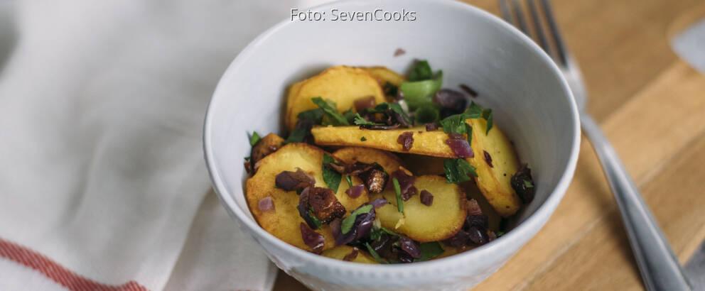 Veganes Rezept: Bratkartoffeln 3