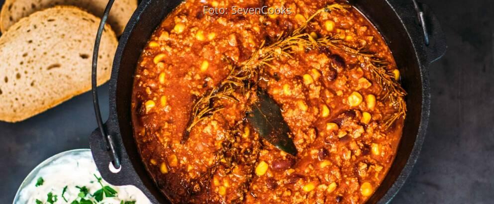 Veganes Rezept: Chili con Tofu 1