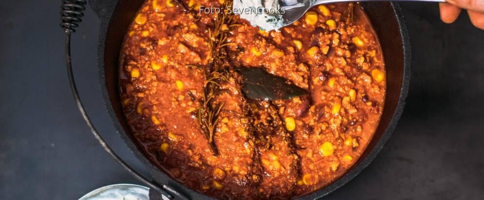 Veganes Rezept: Chili con Tofu 2