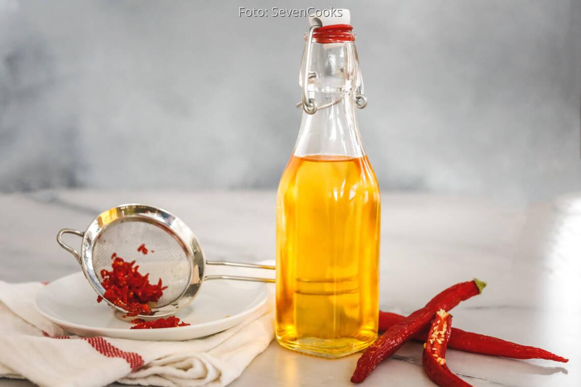 Veganes Rezept: Chili-Öl 1