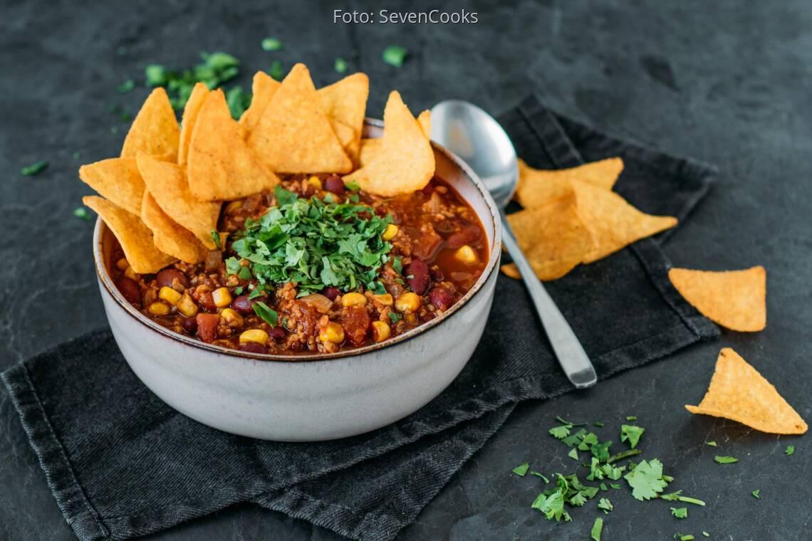 Veganes Rezept: Chili sin carne 1