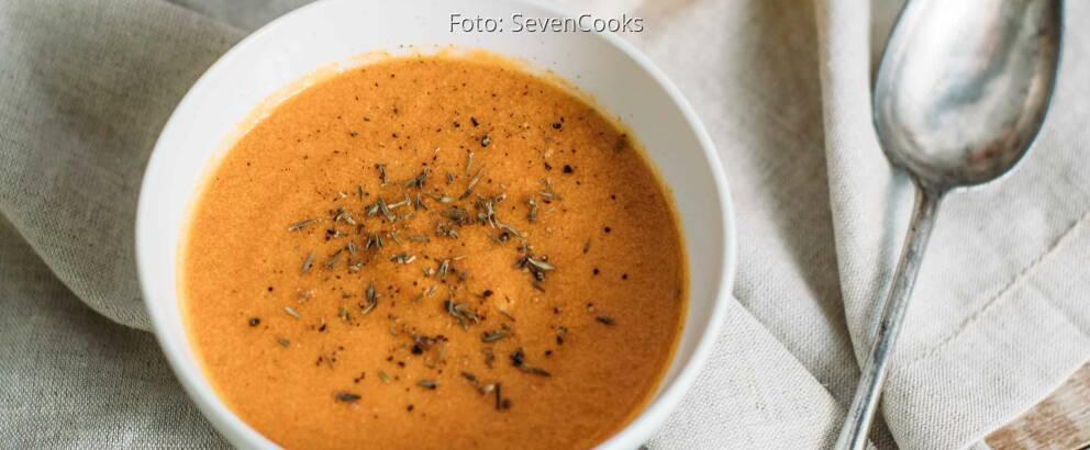 Veganes Rezept: Cremige Paprikasuppe_1