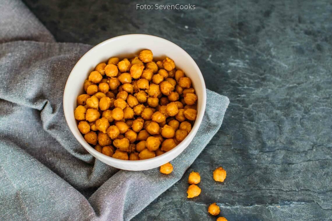 Veganes Rezept: Curry-Kichererbsen-Snack_1