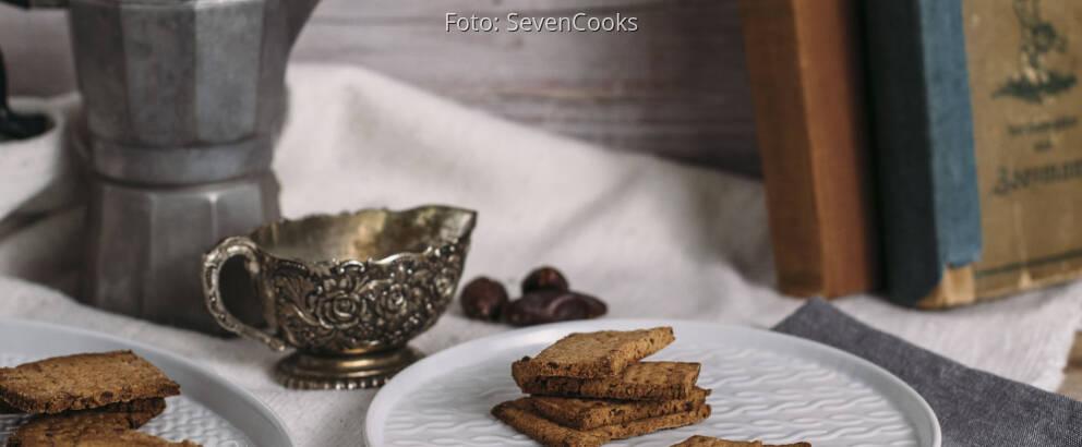 Veganes Rezept: Dattelkekse ohne Zucker
