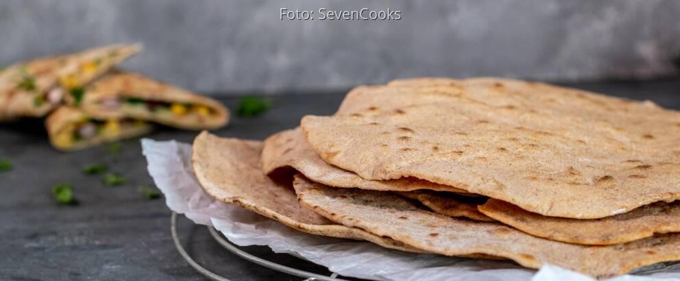 Veganes Rezept: Dinkel-Vollkorn-Wraps 2