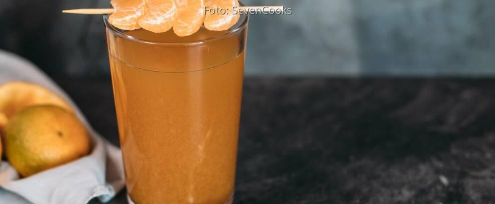 Veganes Rezept: Earl Grey – Mandarinen Eistee 1