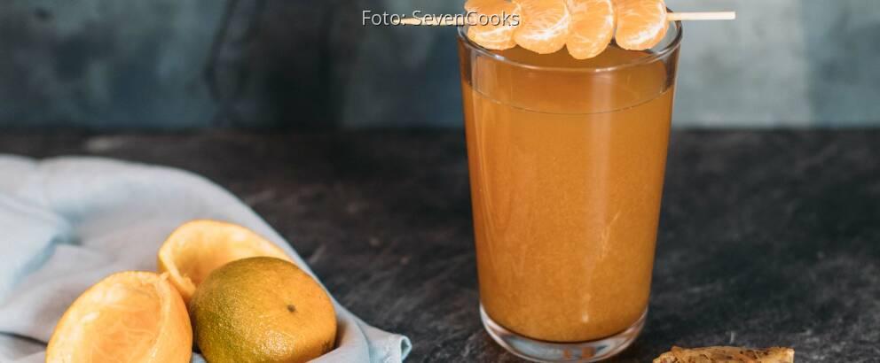 Veganes Rezept: Earl Grey – Mandarinen Eistee 2