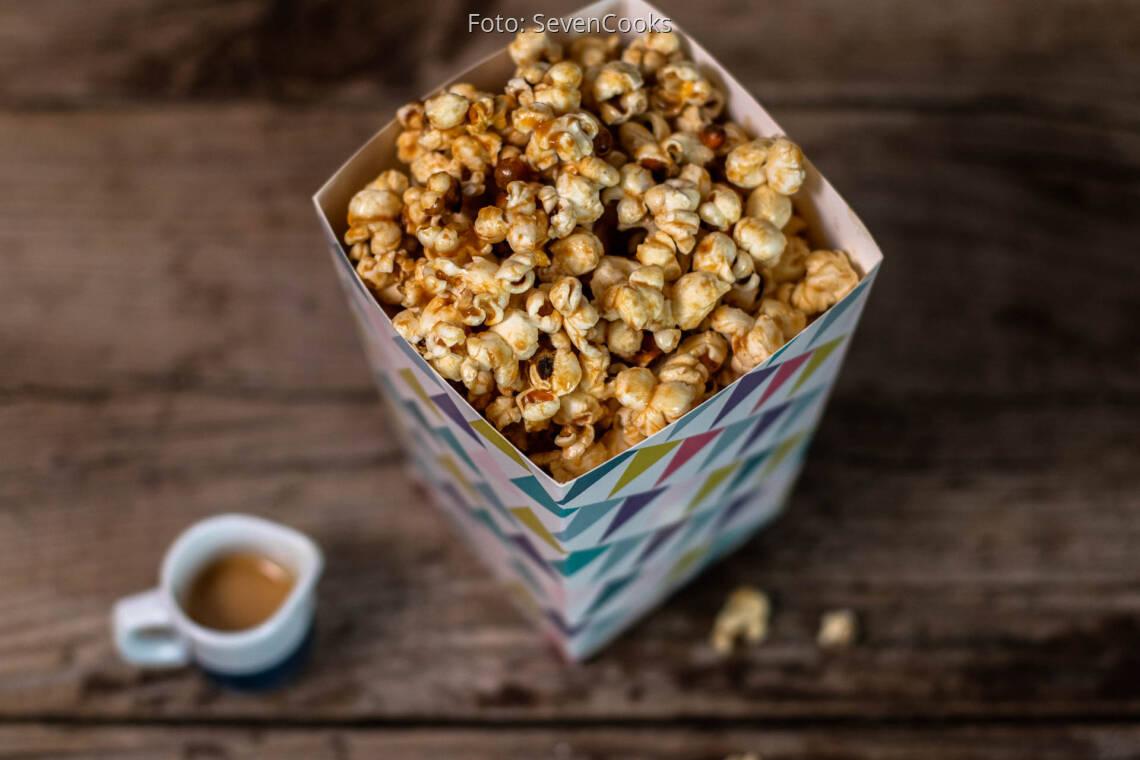 Veganes Rezept: Erdnussbutter Popcorn 1