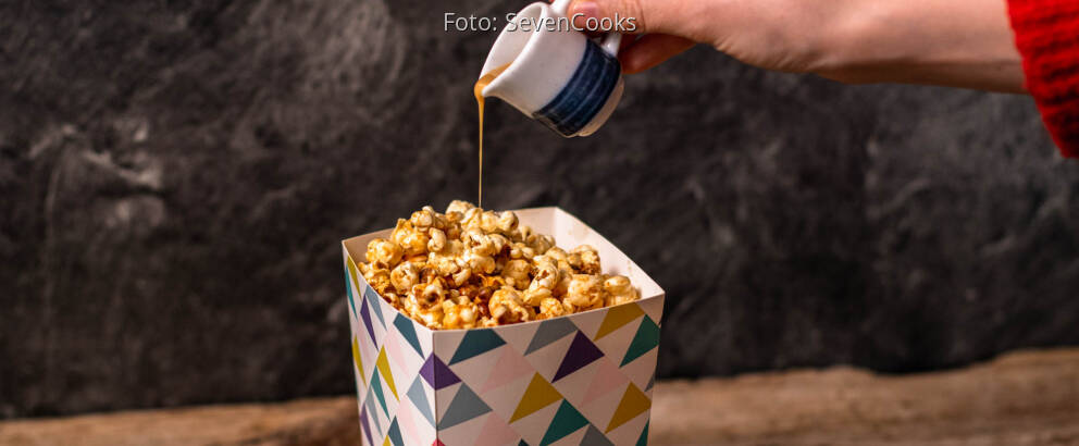 Veganes Rezept: Erdnussbutter Popcorn 2