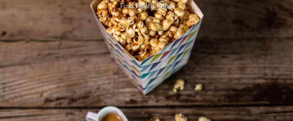 Veganes Rezept: Erdnussbutter Popcorn 3