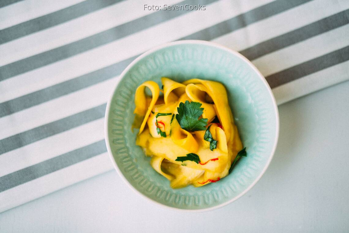 Veganes Rezept: Feuriger Mango-Salat