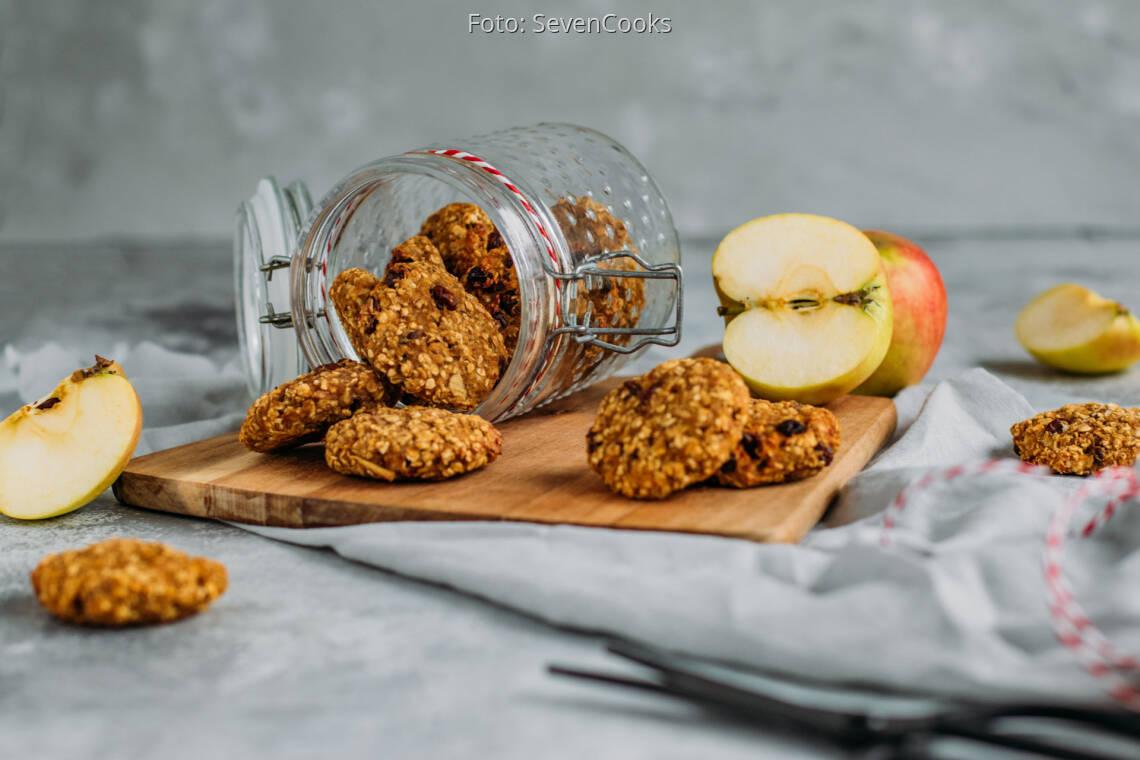 Veganes Rezept: Früchteplätzchen mit Apfel und Karotte 1