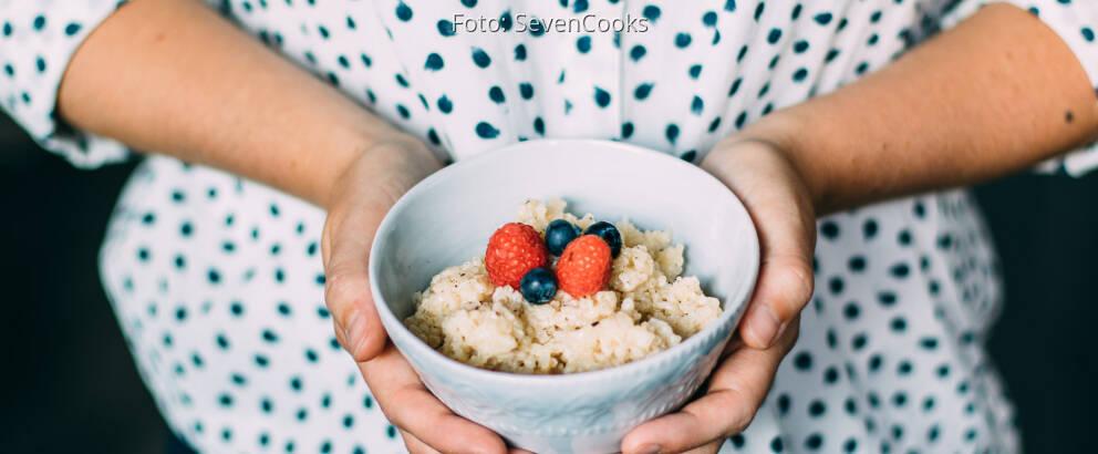 Veganes Rezept: Fruchtiger Kokos-Milchreis