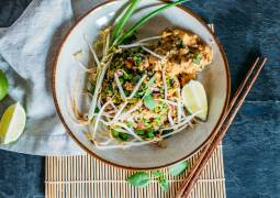 Veganes Rezept: Gebratener Reis mit Erdnuss-Tofu 1