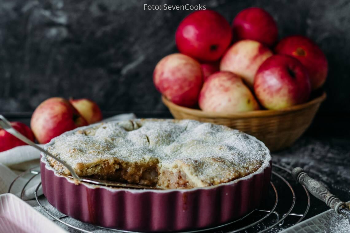 Veganes Rezept: Gedeckter Apfelkuchen 2.1