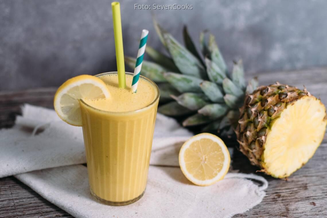 Veganes Rezept: Golden Morning Smoothie_1
