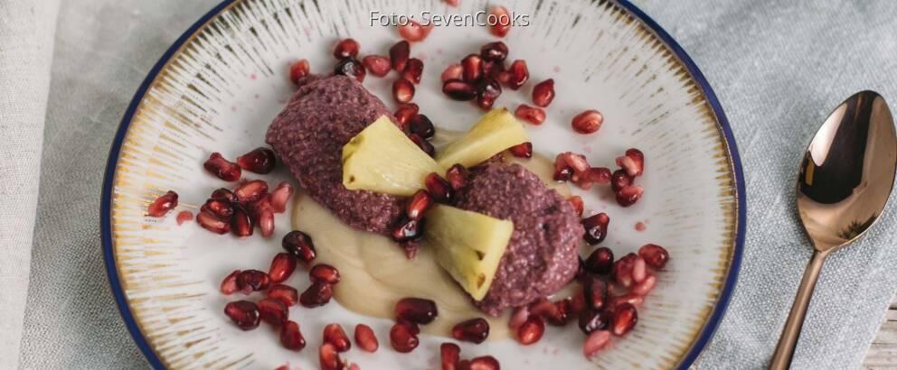 Veganes Rezept: Granatapfeldessert_1
