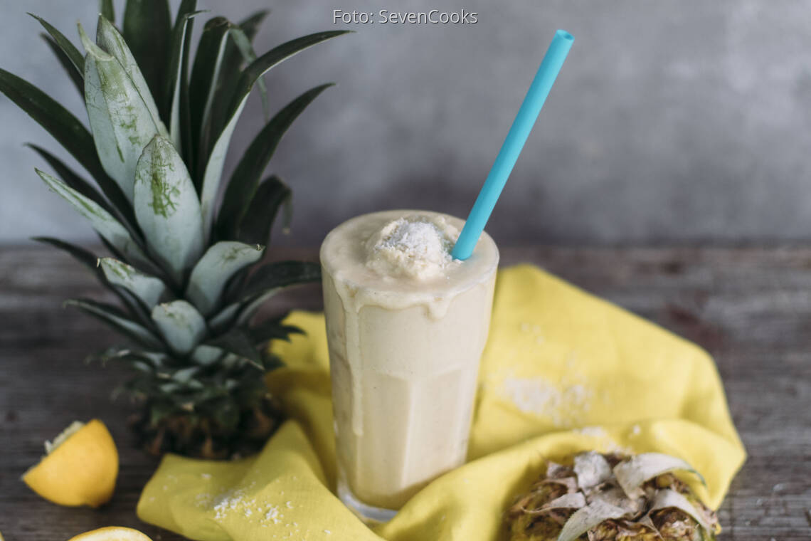 Veganes Rezept: Granita Piña Colada_1