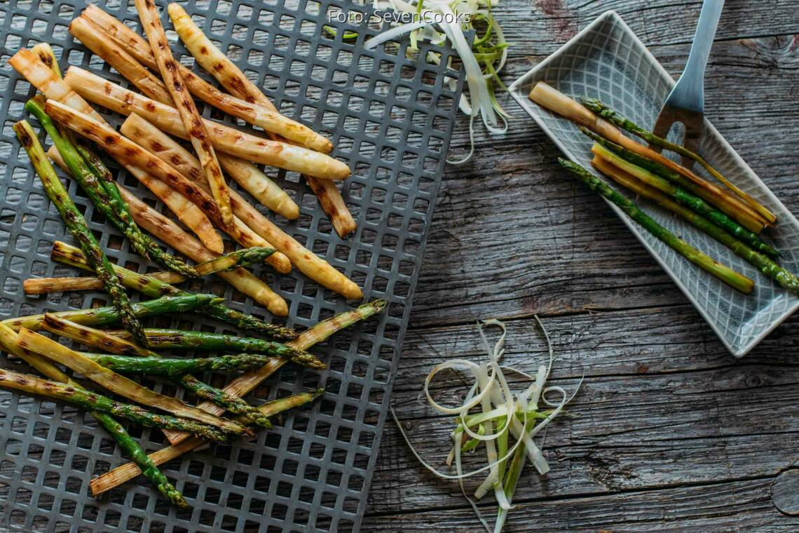 Veganes Rezept: Grill Spargel umami deluxe 1