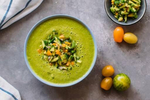 Veganes Rezept: Grüne Gazpacho_1