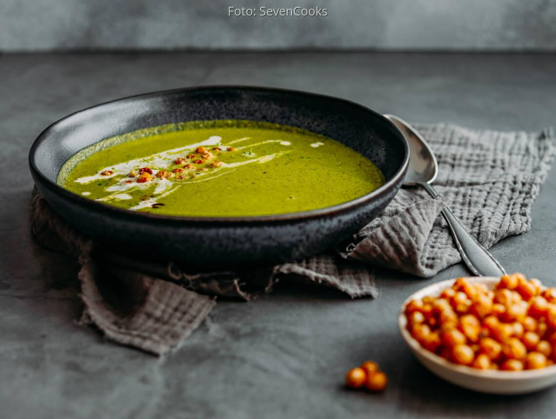 Veganes Rezept: Grünkohl-Kokos-Suppe 1