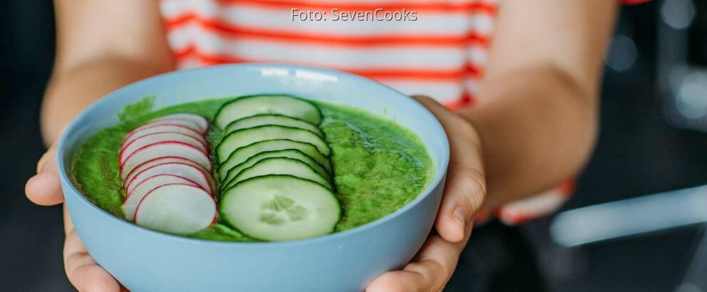 Veganes Rezept: Grüne Smoothie-Bowl_1