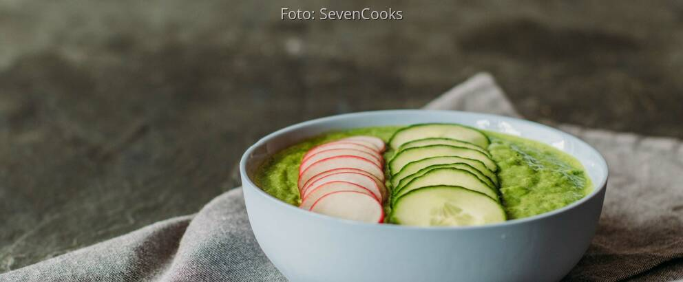 Veganes Rezept: Grüne Smoothie-Bowl_2