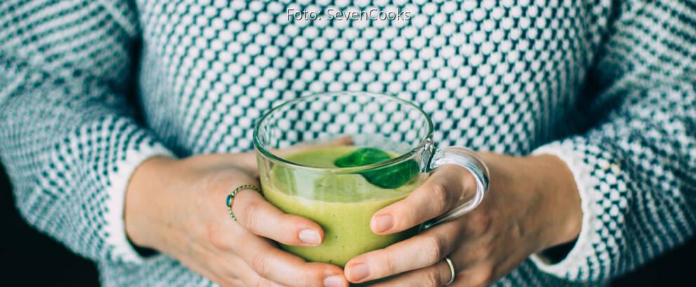 Fertiges Rezept: Grüner Smoothie mit Baby-Spinat_2