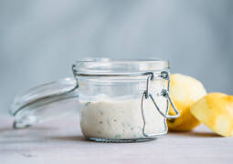 Veganes Rezept: Gurken-Joghurt-Dip