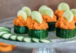 Veganes Rezept: Gurken-Karotten-Canapees_1