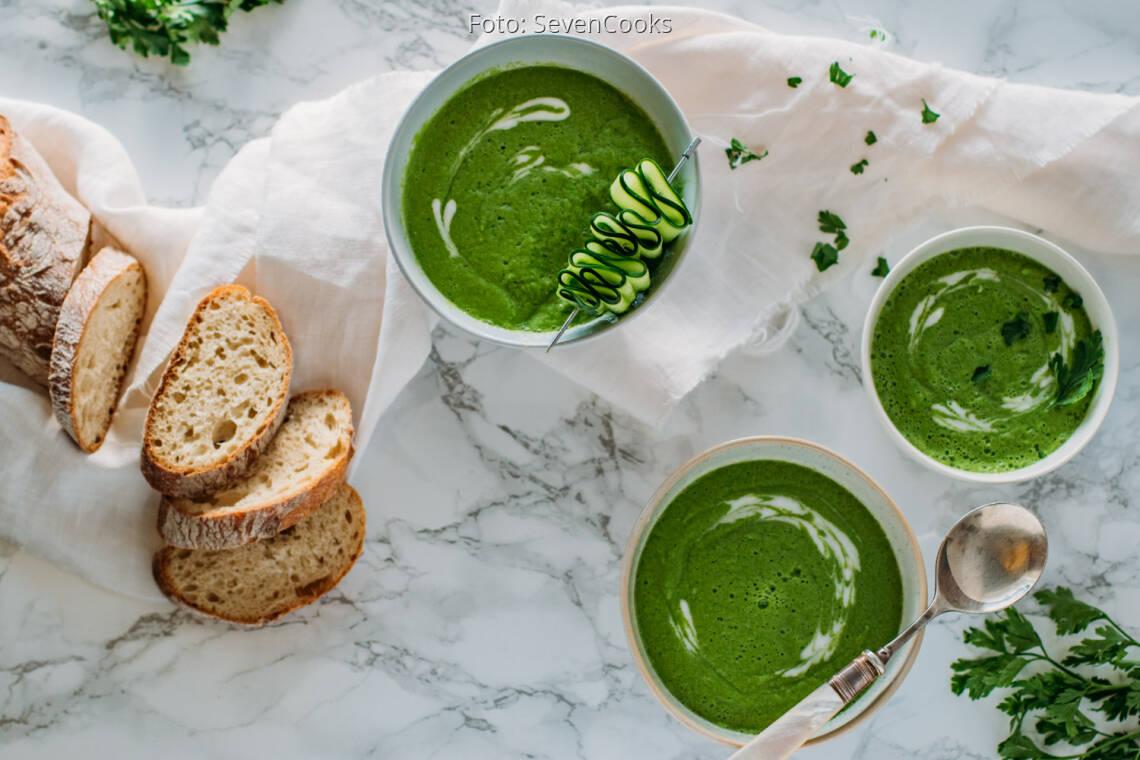 Veganes Rezept: Gurkensuppe
