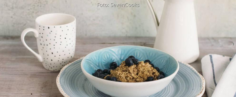 Veganes Rezept: Heidelbeer-Porridge mit Zimt_2