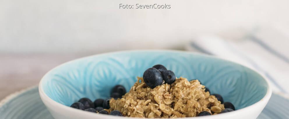 Veganes Rezept: Heidelbeer-Porridge mit Zimt_3