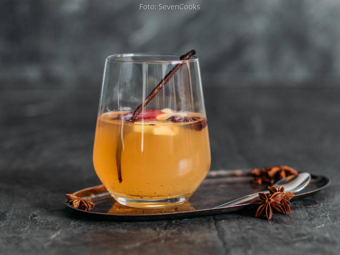 Veganes Rezept: Heißer Bratapfel