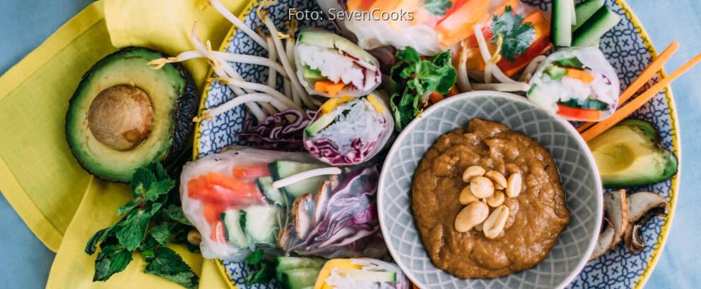 Veganes Rezept: Herzhafte Summerrolls