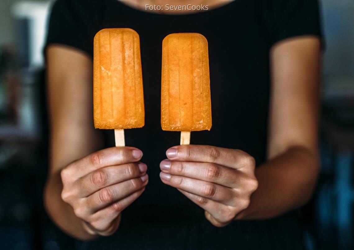 Veganes Rezept: Honigmelonen Popsicle 1