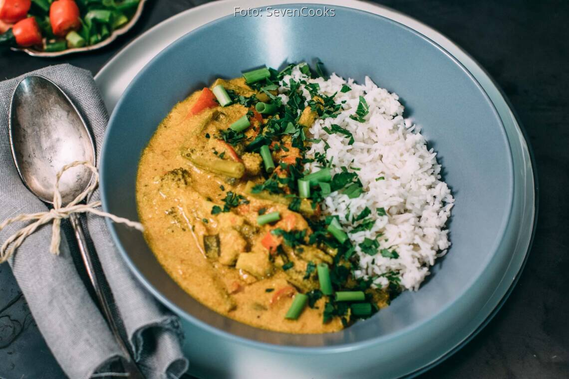 Veganes Rezept: Indisches Gemüsecurry_1