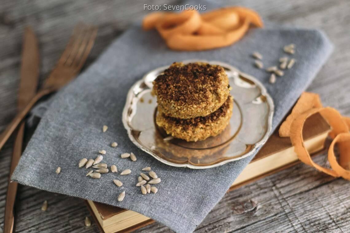 Veganes Rezept: Karotten-Nuss-Bratlinge 1