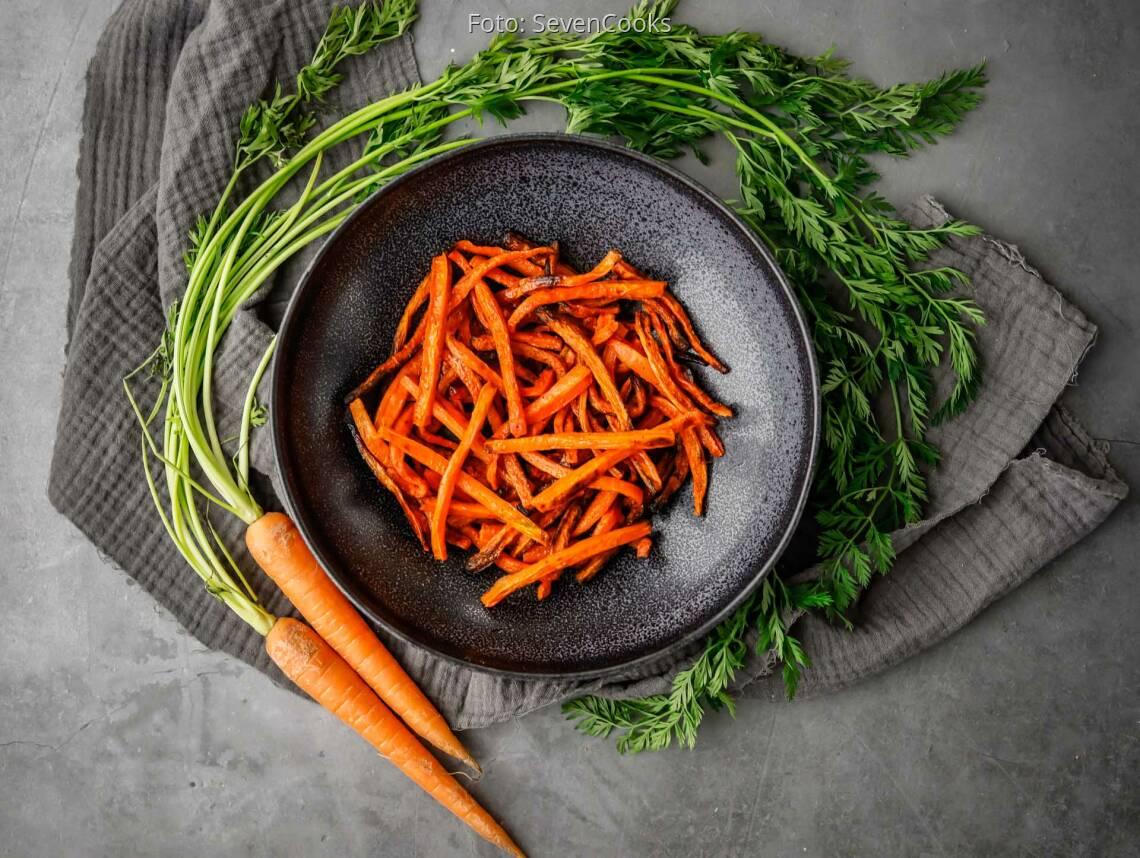 Veganes Rezept: Karottenpommes 1