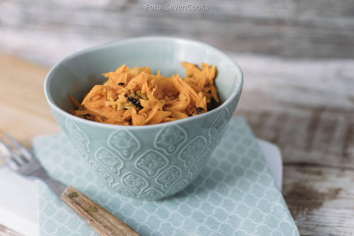 Veganes Rezept: Karottenrohkost 1