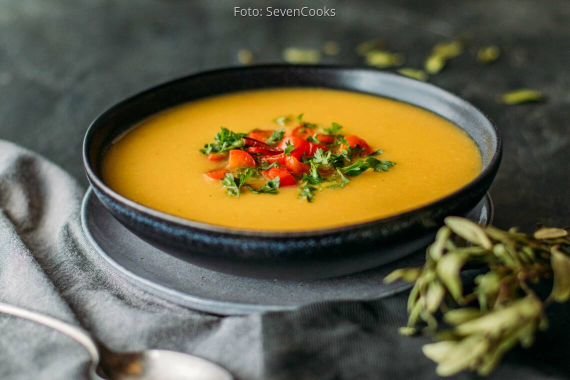 Veganes Rezept: Kartoffel-Gemüse-Suppe 3