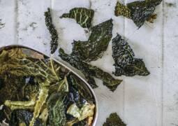 Veganes Rezept: Knusprige Wirsingchips