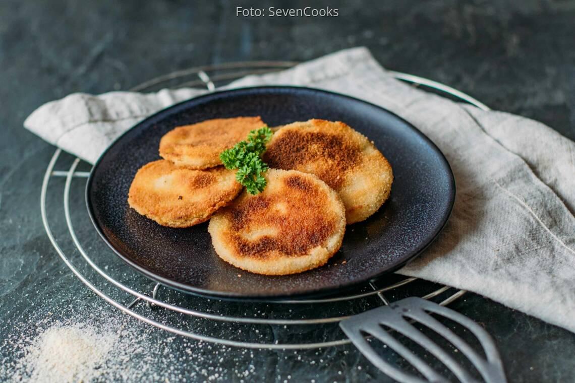 Veganes Rezept: Kohlrabi-Schnitzel 1