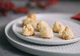 Weihnachtsplätzchen Kokosmakronen.Weihnachtsplätzchen Plätzchenrezepte Sevencooks