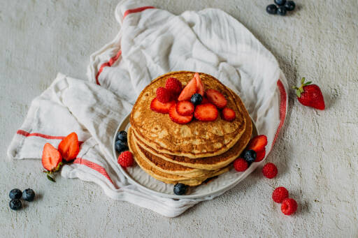 Veganes Rezept: Leinsamen Pancakes 1