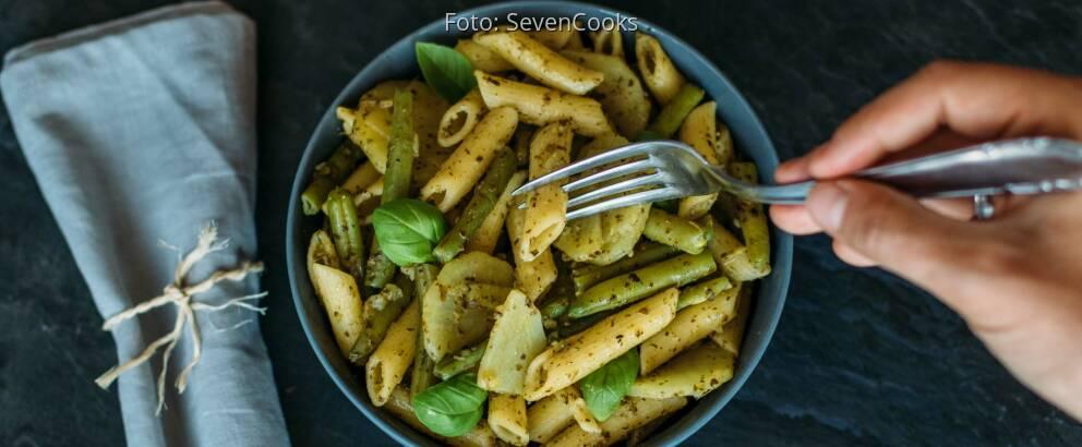 Veganes Rezept: Ligurische Pasta 3
